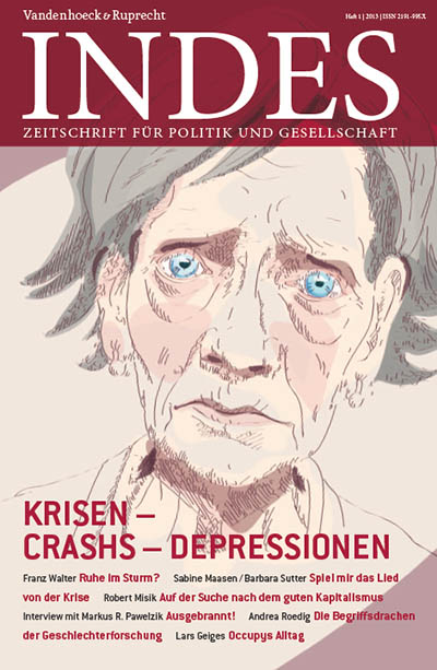 Cover INDES 'Krisen-Crashs-Depressionen'