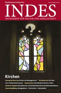 Cover INDES 'Kirchen'