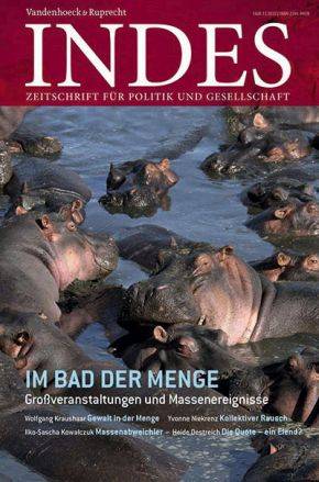 Cover INDES 'Im Bad der Menge'