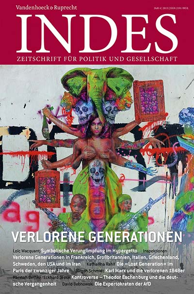 Cover INDES 'Verlorene Generationen'