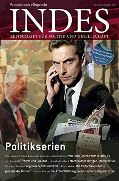 Cover INDES 'Politikserien'