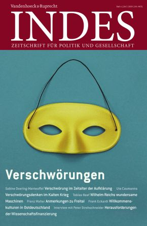 Cover INDES 'Verschwörungen'