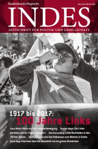Cover INDES '100 Jahre Links'